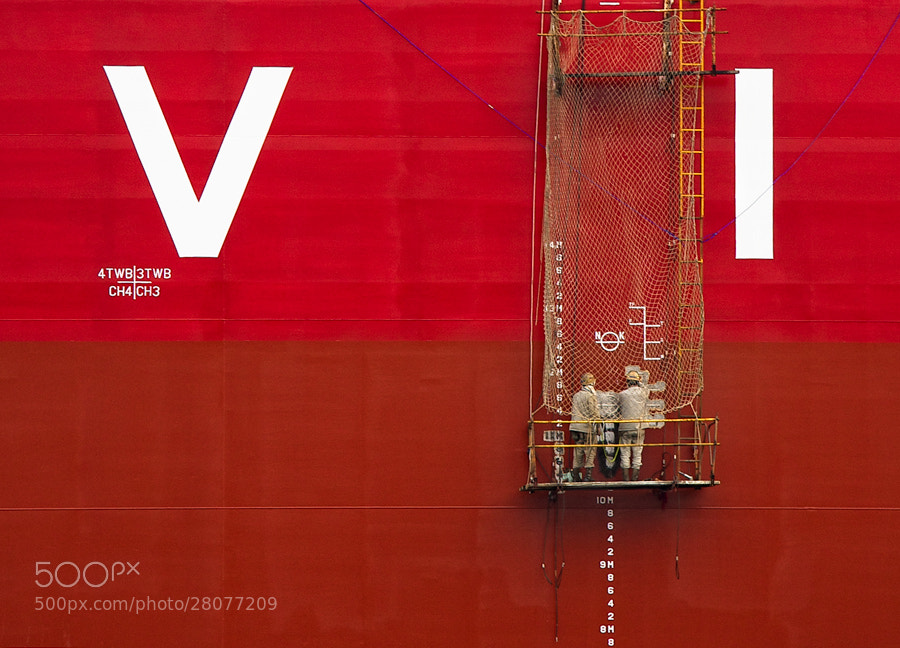 Photograph Paint it red by Javier Serrano on 500px