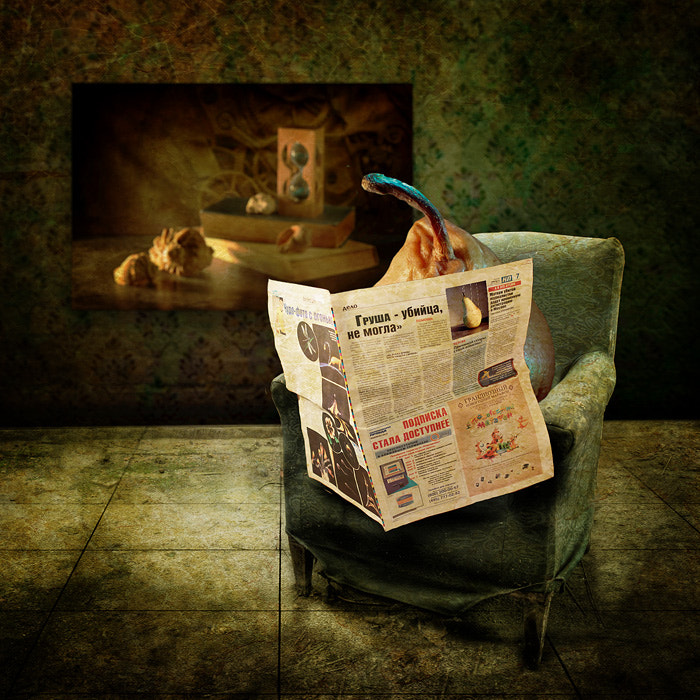 Photograph Газета | Newspaper by PolTergejst  on 500px