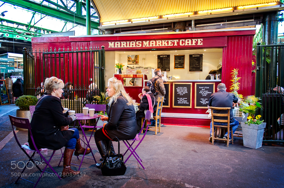 Photograph Maria's in Borough Market by Garry Knight on 500px