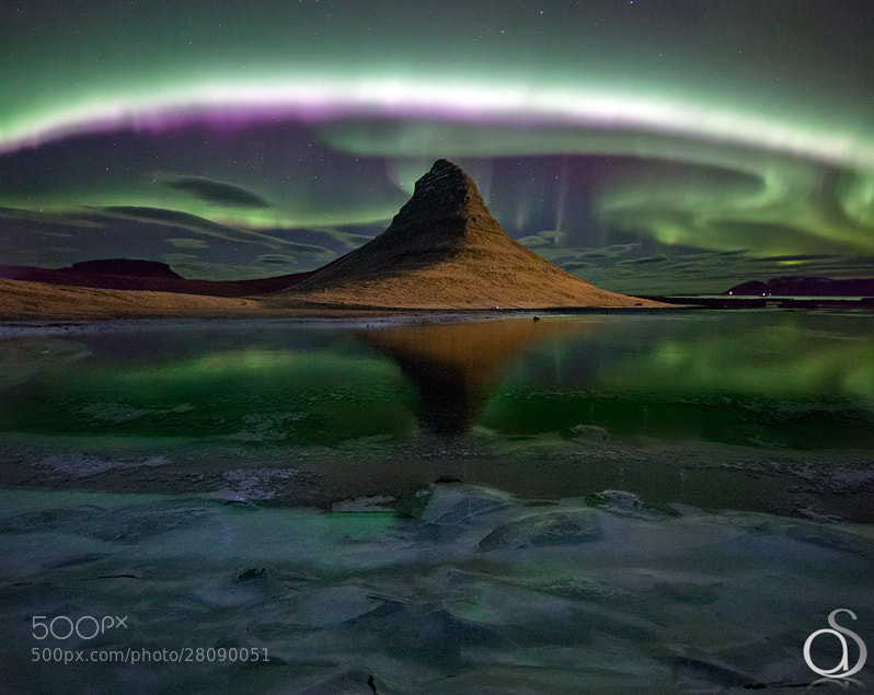 Photograph Kirkjufell Aurora by Antony Spencer on 500px