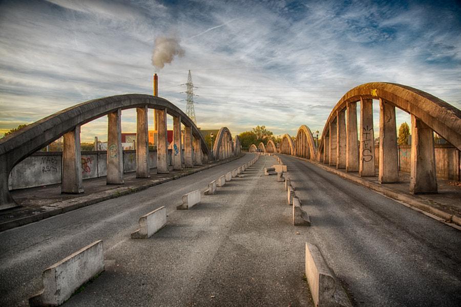 La rampe du lion. That unique bridge architecture is in danger,, автор — Laurent Lequenne на 500px.com