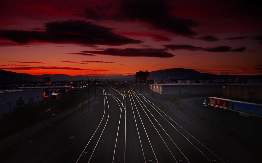 The Switching Station, автор — Doug Keown на 500px.com