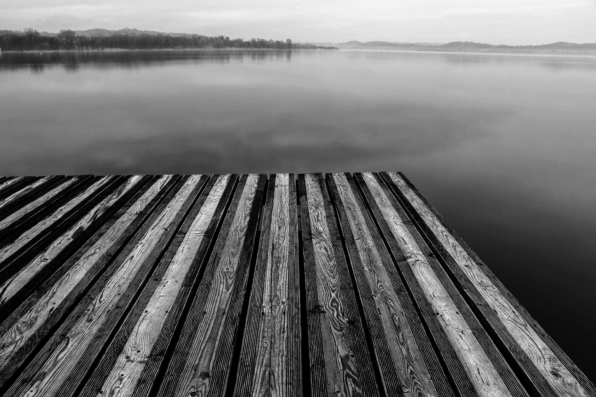 Photograph pontile b/n by Roberto Colombo on 500px