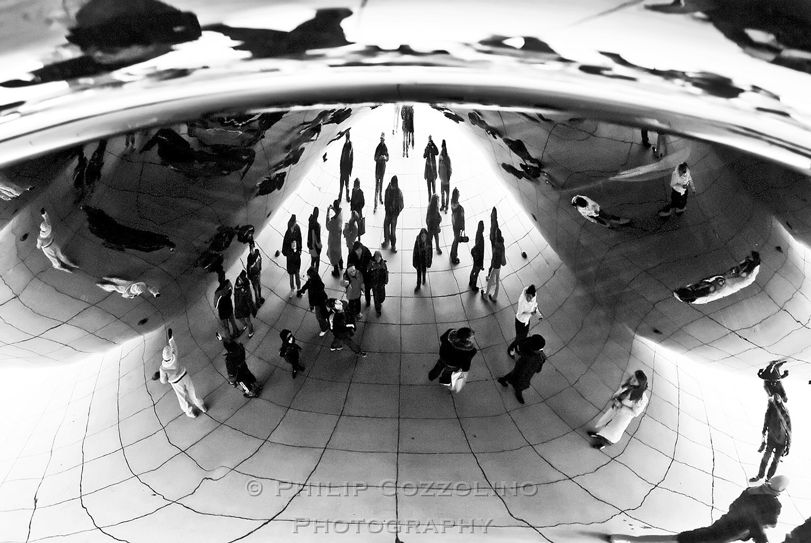 Photograph Cloud Gate by Philip Cozzolino on 500px