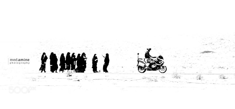 Photograph Les Femmes et le Gendarme by Med Amine on 500px