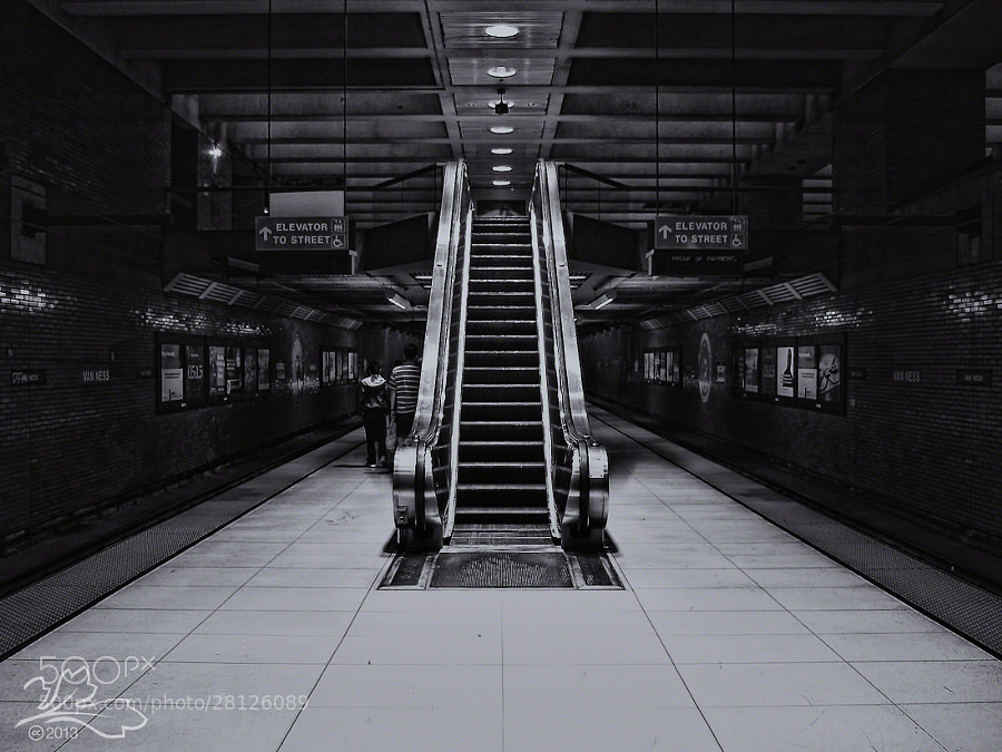 Van Ness MUNI Station, San Francisco