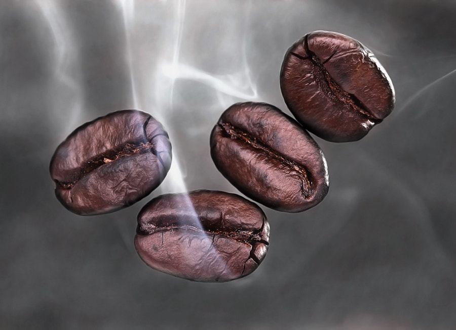 Photograph Smoky Coffee Beans by Prachit Punyapor on 500px