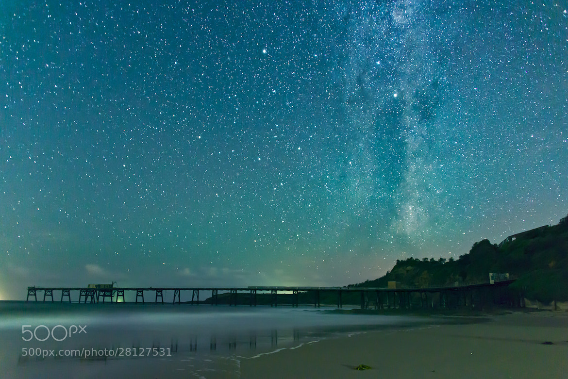 Photograph Catherine Hill Bay Milky Way by Karl Lindsay on 500px