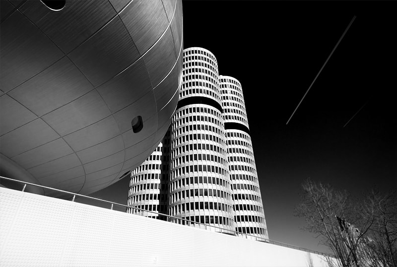 Photograph BMW Headquater by pixeldreamer  on 500px