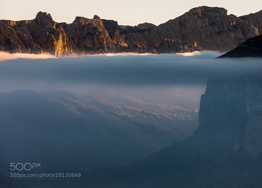 """<a href=""""http://www.hanskrusephotography.com/Workshops/Dolomites-September-9-13-2013/27288954_F322KR#!i=2404991695&k=8z5RfBV&lb=1&s=A"""">See a larger version here</a>  This photo was taken during a photo workshop that I was leading in the Dolomites October 2012."""