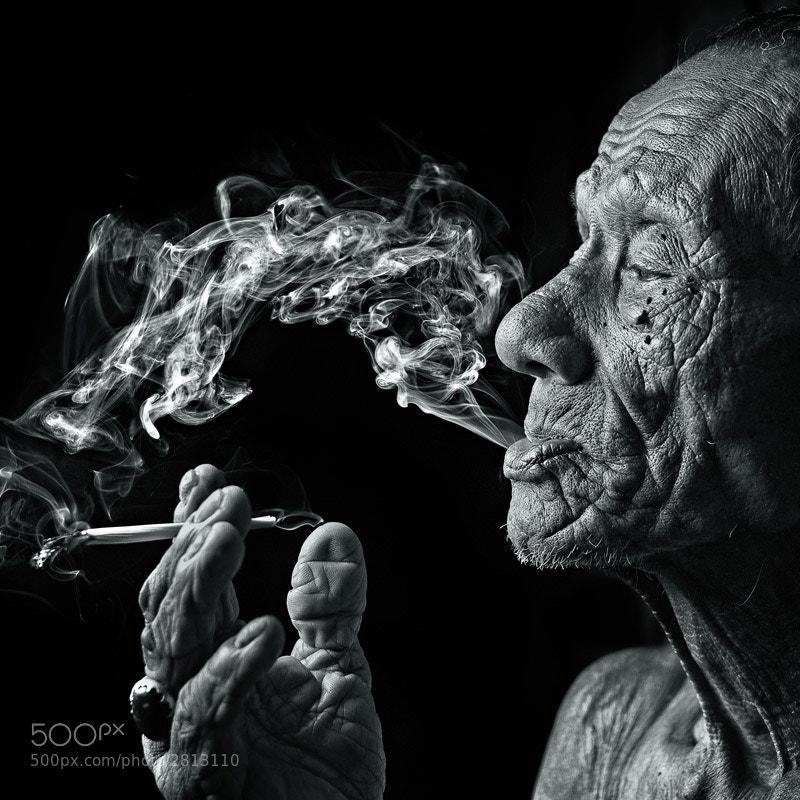 80+ years old malay man.