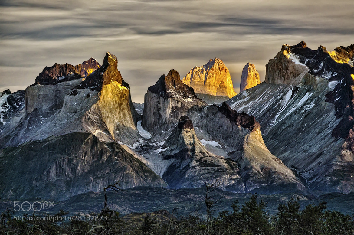 Photograph First light on Cuernos del Paine by Daniel Schwabe on 500px