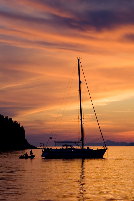 Photograph Sailing at Dusk by Andre Nantel on 500px