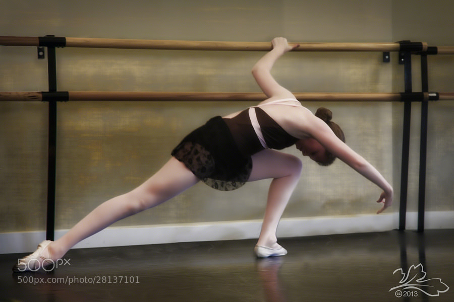 Dancer at San Diego Ballet