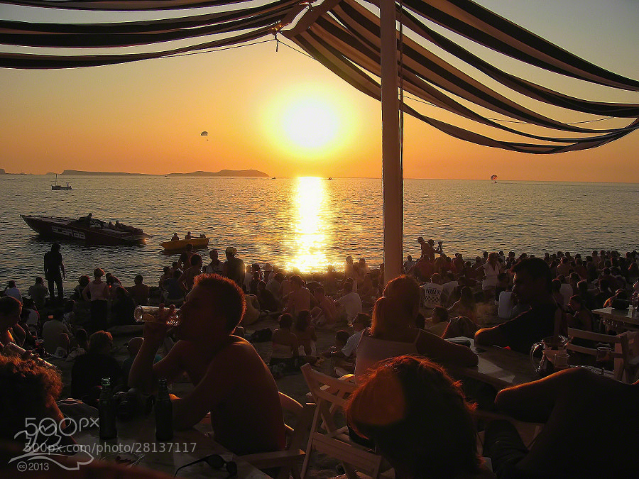 Sunset at Cafe del Mar
