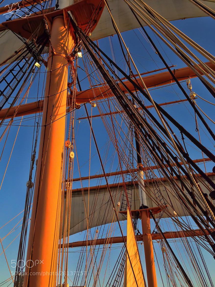Photograph Rigging on The Star of India by Michael Darius on 500px