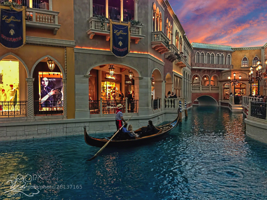 Sunset at The Venetian (2/2)