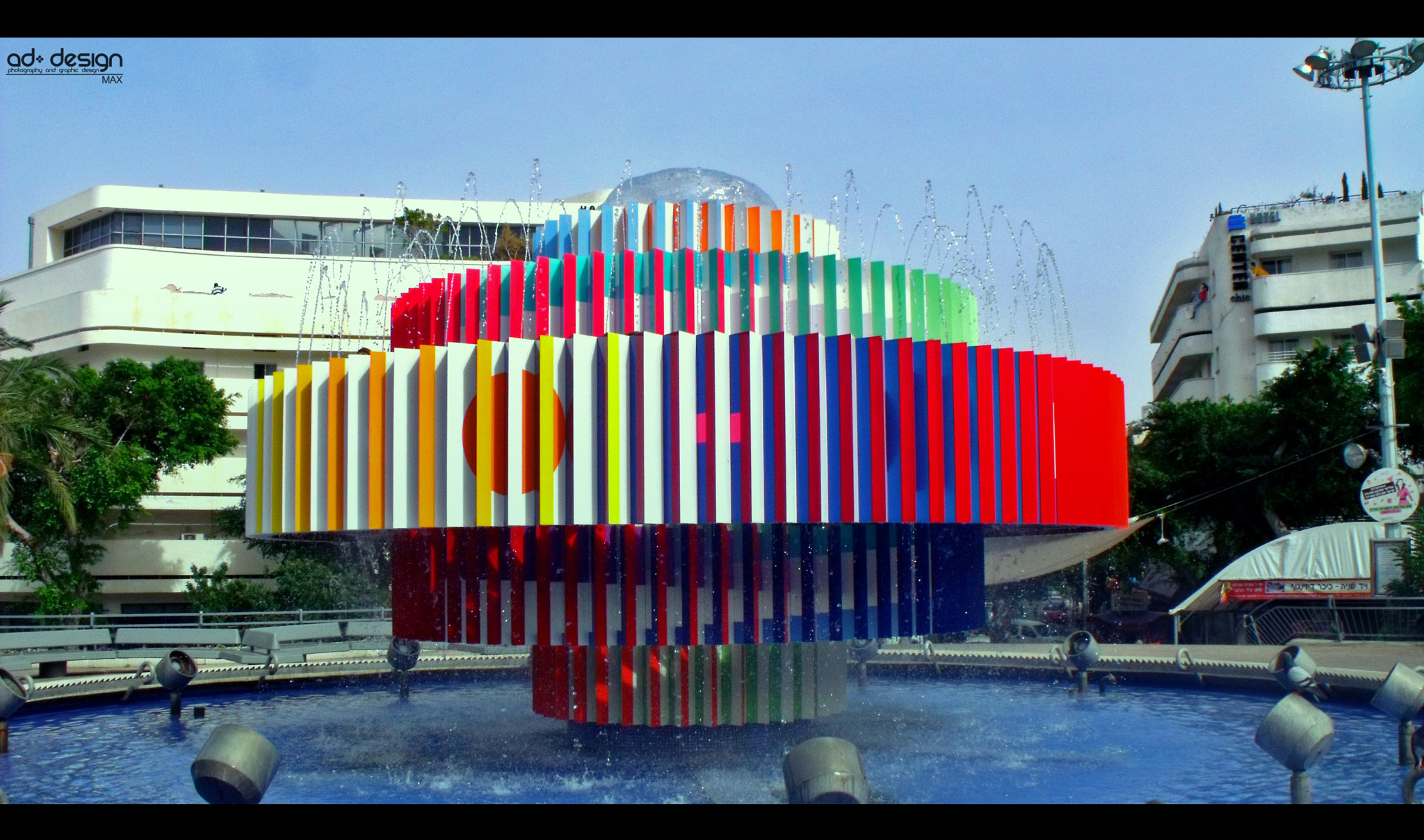 Photograph Fountain in Tel Aviv by Max Shapira on 500px