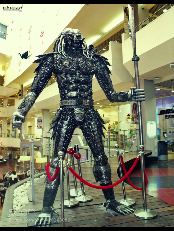 Photograph Predator Statue in Dizingoff Center by Max Shapira on 500px