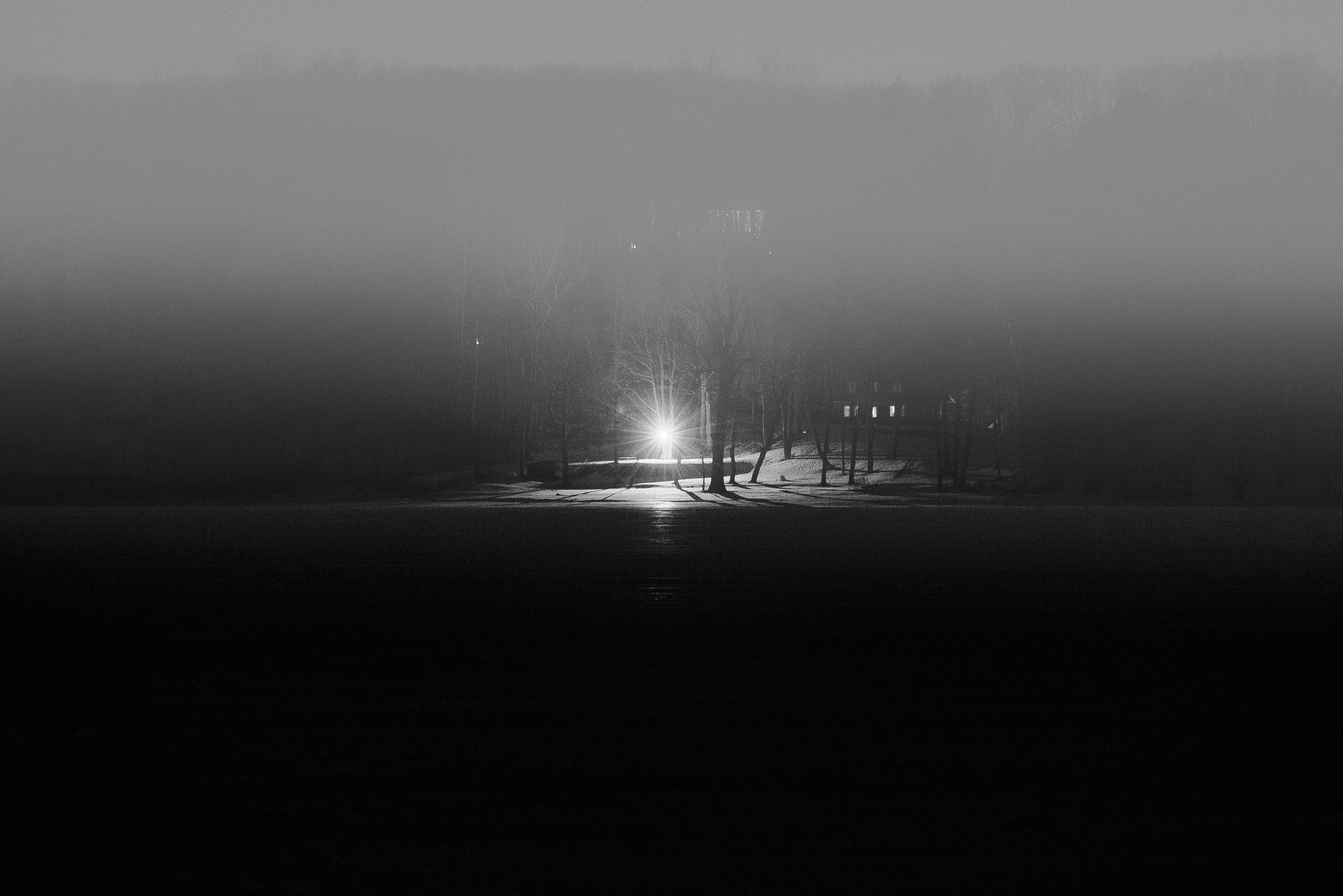 Photograph Alone in the Dark by Chris Lockwood on 500px