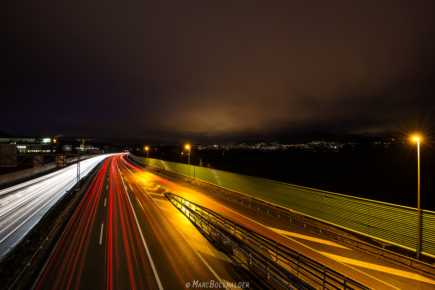 Photograph Highway to St.Gallen by Marc Bollhalder on 500px
