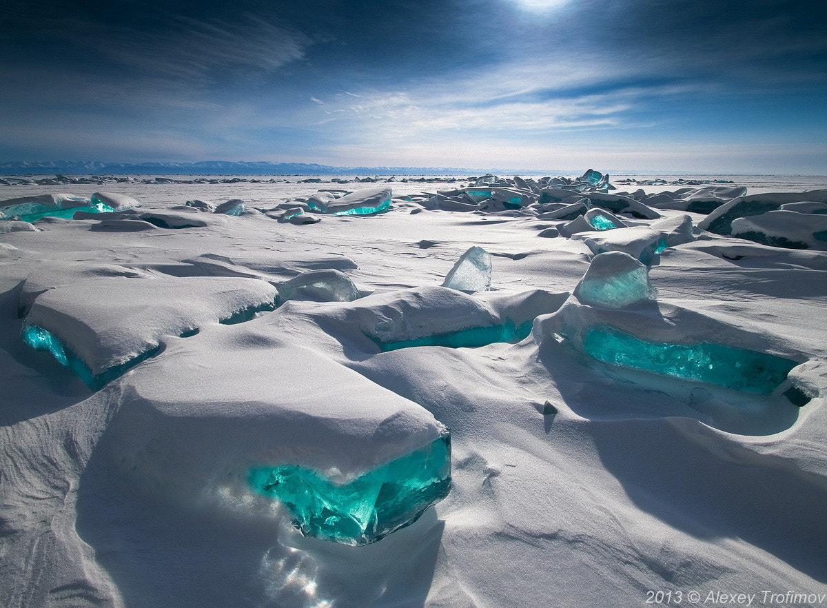 Photograph Baikal Treasures. Sapphire sky, turquoise ice by Alexey Trofimov on 500px