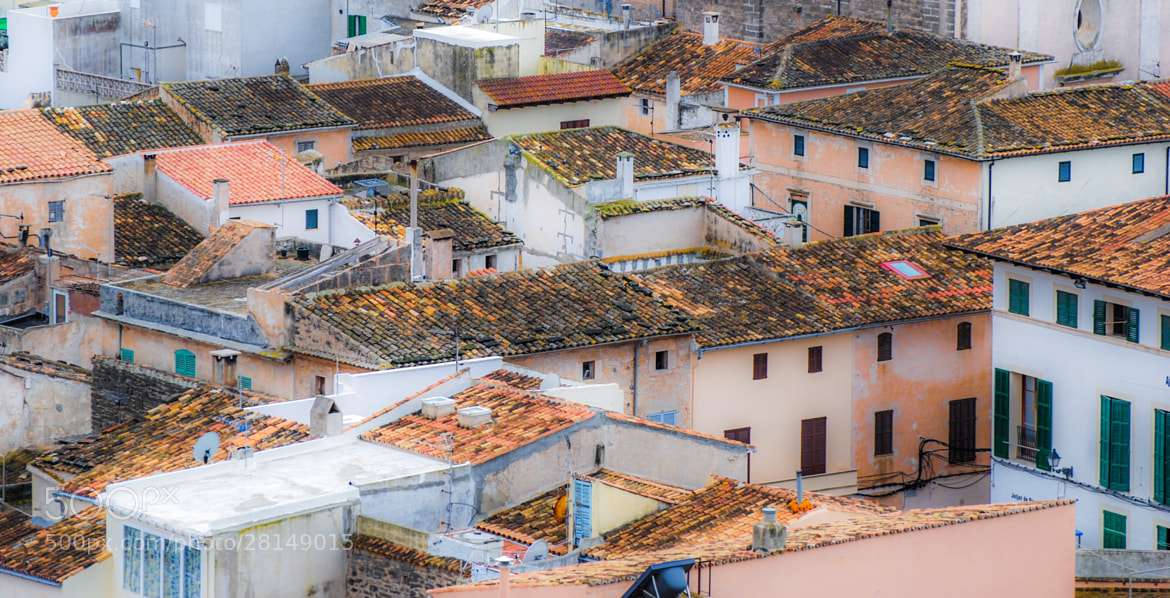 Photograph roof still life by Angelina  on 500px