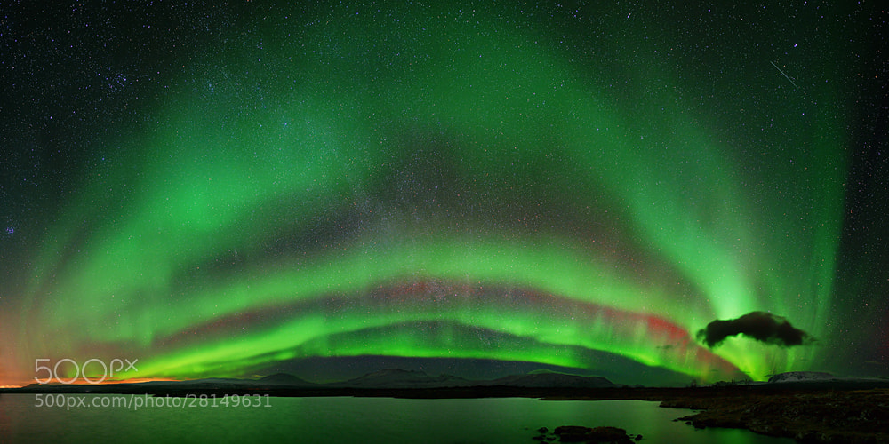 Photograph AURORA PANO by Martin Amm on 500px