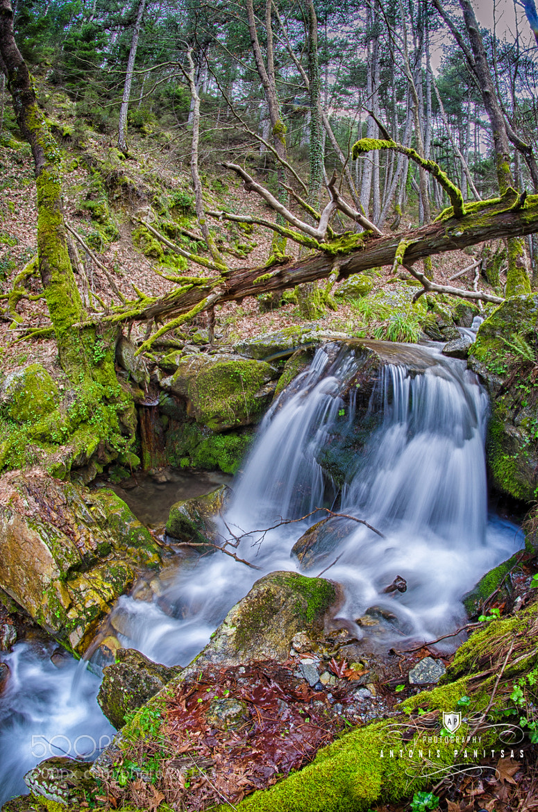 Photograph Waterfall by Antonis Panitsas on 500px