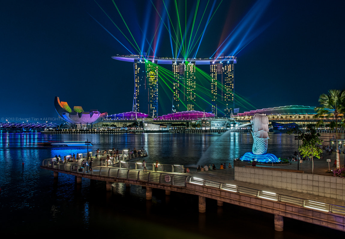 Photograph Singapore Merlion Park by Edward Tian on 500px