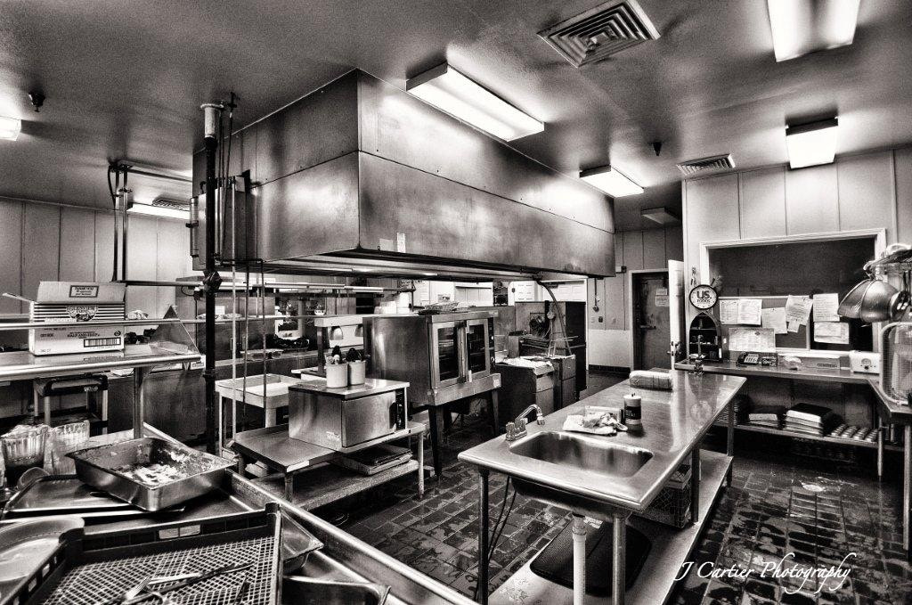 Photograph Industrial Kitchen by Jerome Cartier on 500px