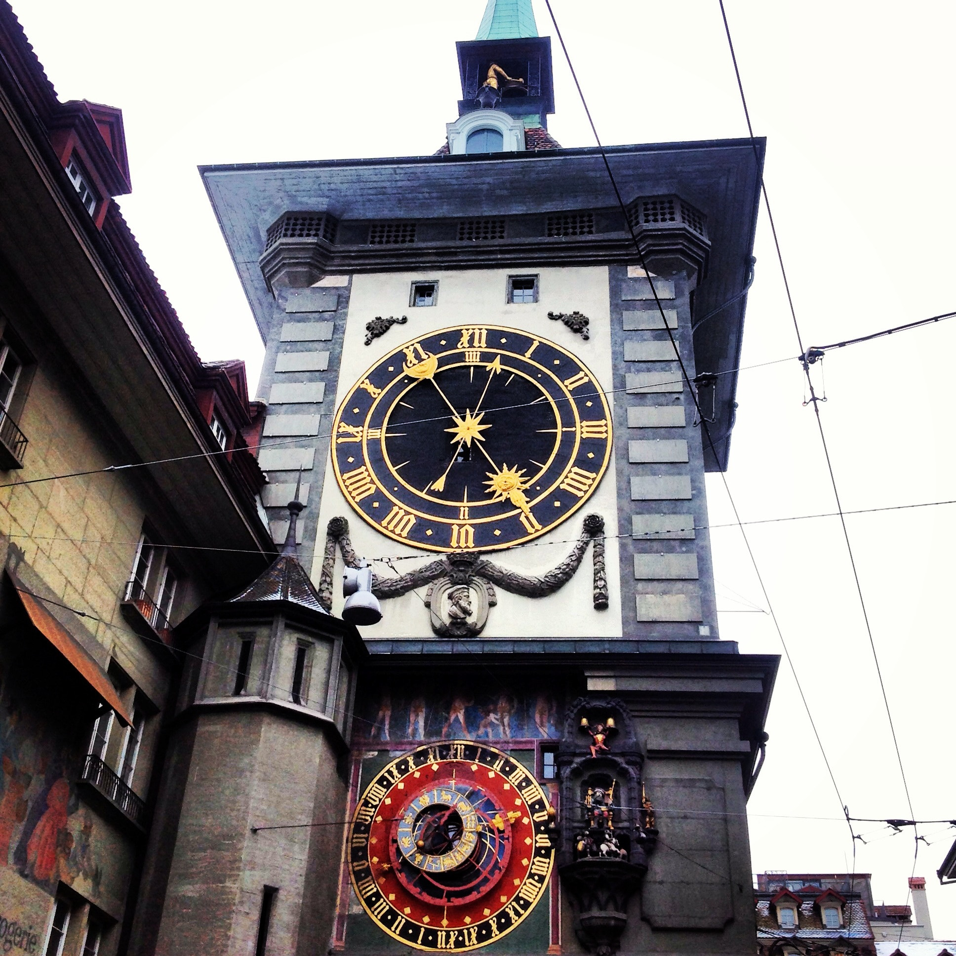 Photograph Clock tower in Bern by Claudia Kinzl on 500px