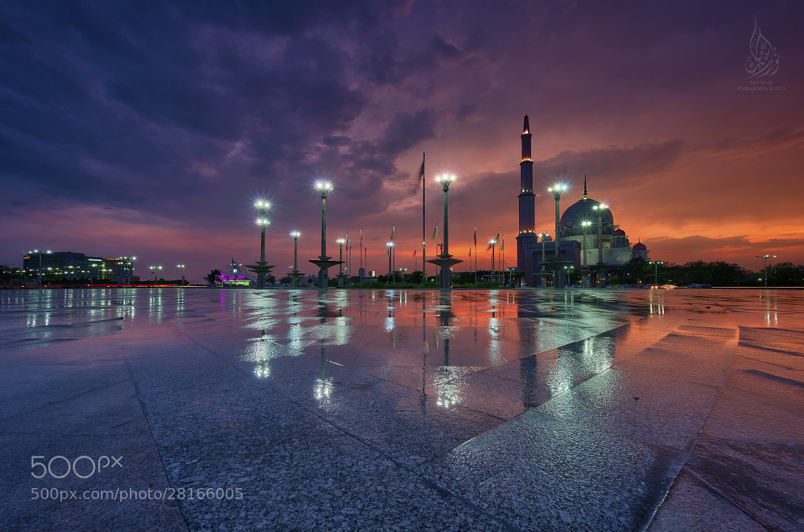 "Photograph ""Masjid Putra Sunset II"" by Nur Ismail Mohammed on 500px"