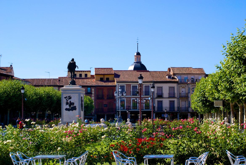 Photograph El monumento a Cervantes. Alcalá de Henares #1 by Alexey Nakhimov on 500px