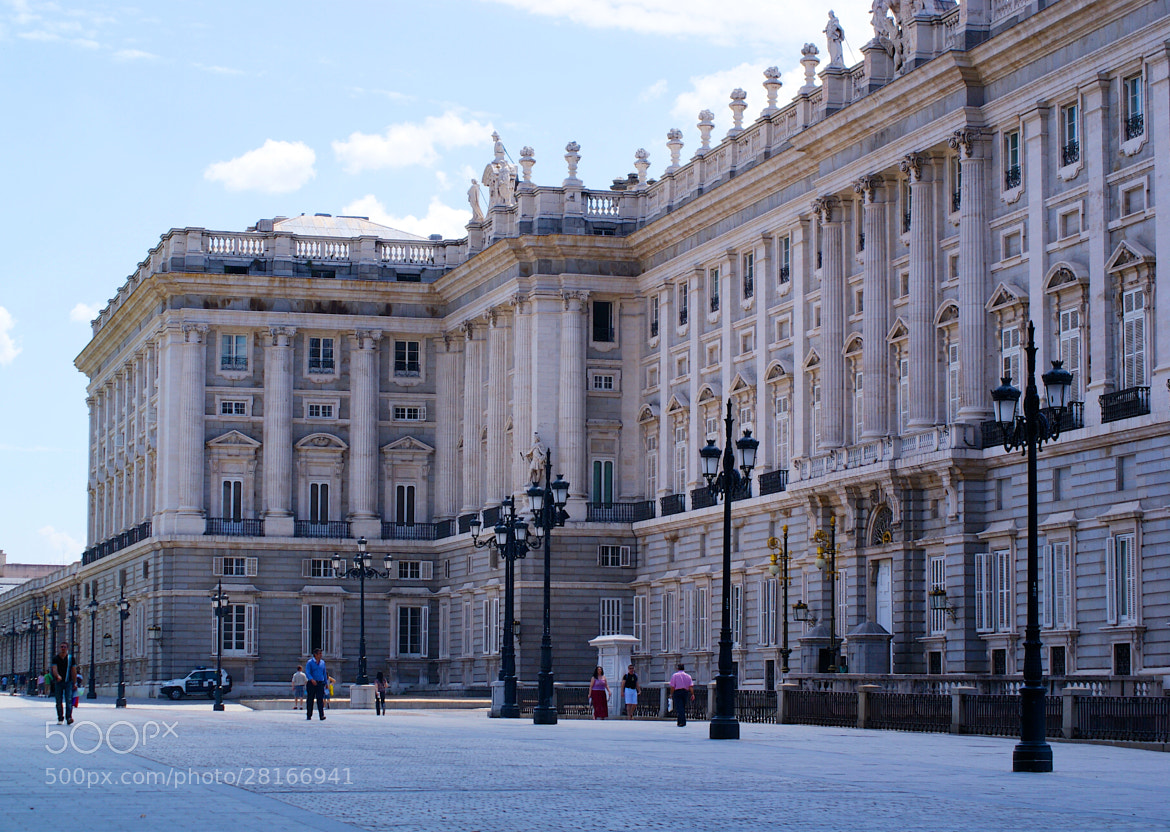 Photograph Palacio Real, Madrid by Alexey Nakhimov on 500px