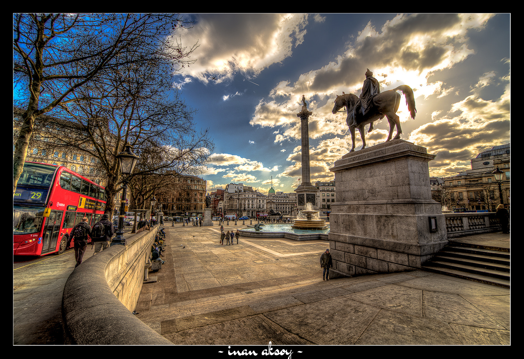 Photograph Trafalgar Square by Inan Aksoy on 500px