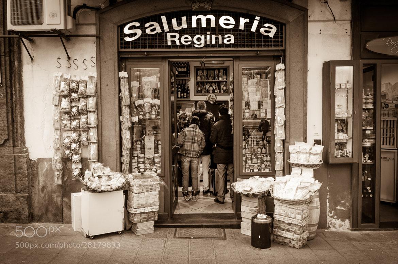 Photograph Al dente - Salumeria, Napoli by Neil Bryars on 500px