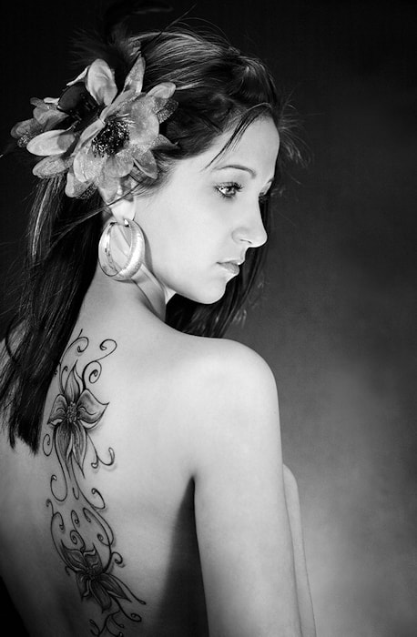 Photograph Girl with tattoo by Kiril Stanoev on 500px