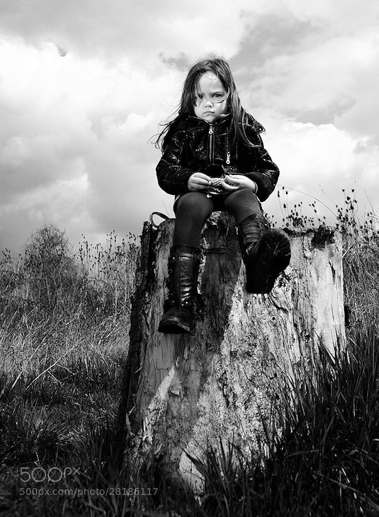 Photograph Angry kid by Kiril Stanoev on 500px
