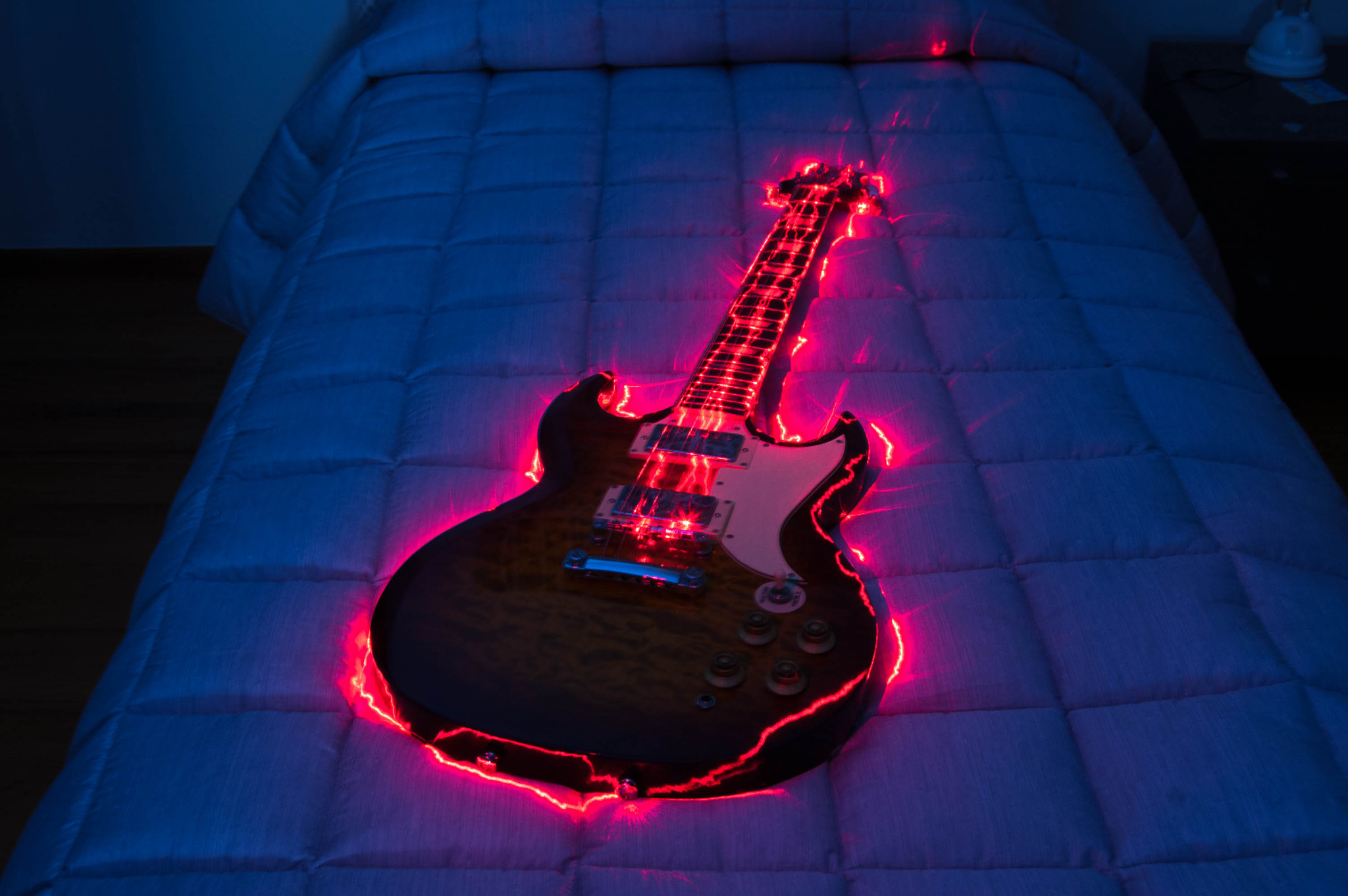 Photograph Long exposure guitar by Andrea Bianchi on 500px