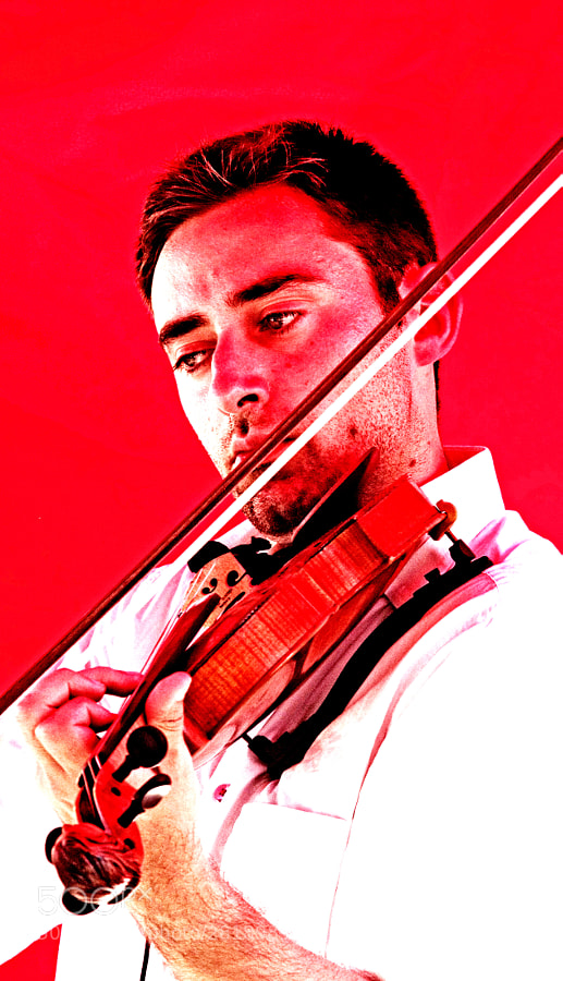 Photograph The RED violinist... by Arthur Talkins on 500px