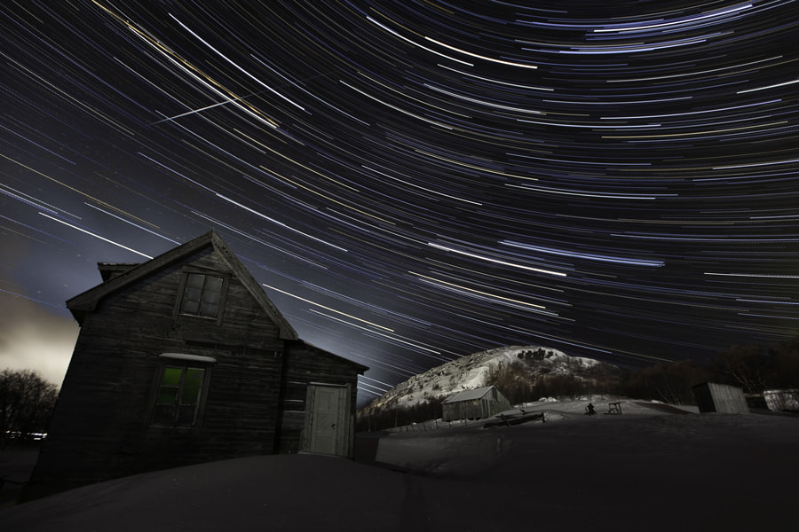 Photograph Star trails by Erik Lindseth on 500px