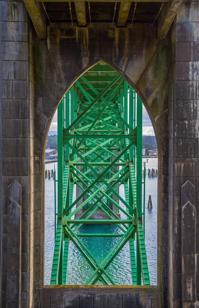 Photograph Under the Yaquina Bay Bridge by Joe Hudspeth on 500px