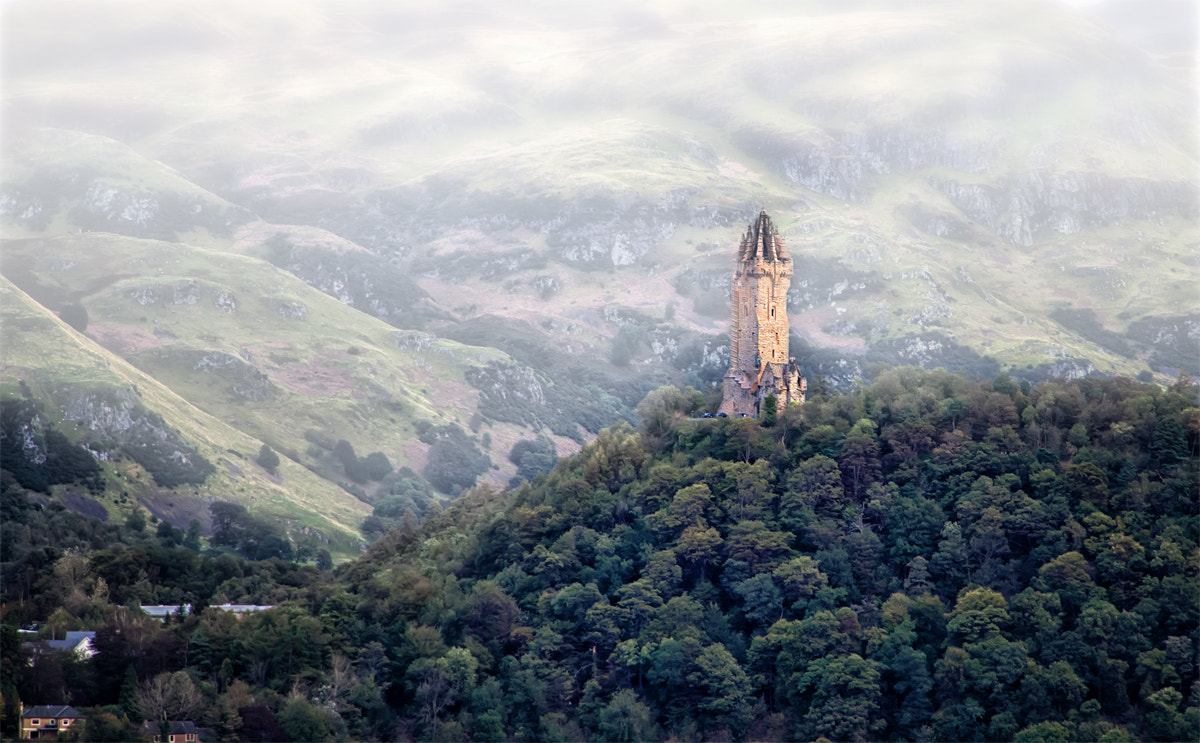 Photograph Wallace Monument by Ian McConnell on 500px