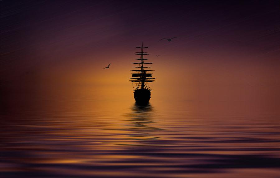 Sailing towards the unknown, автор — Youssef Elboukhari на 500px.com
