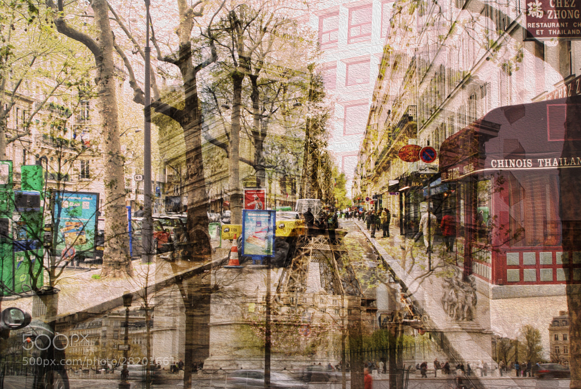 Photograph French Streets Double Exposure by Ewan Arnolda on 500px
