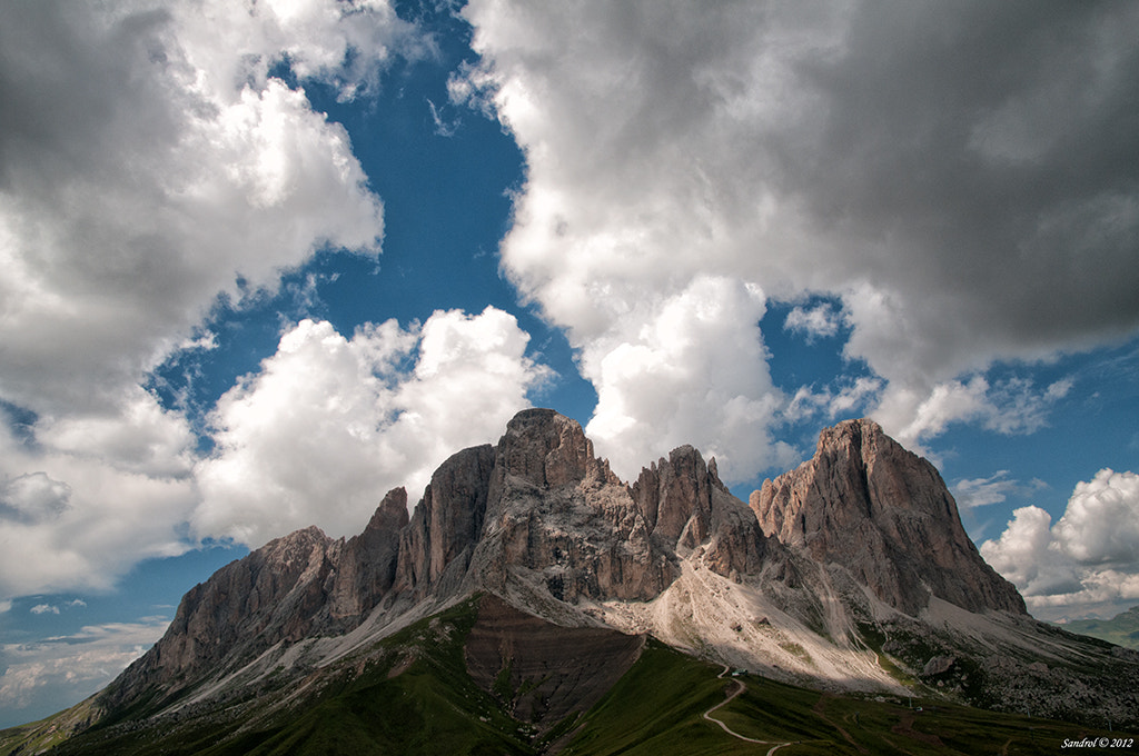 Photograph Sassolungo Group by Sandro L. on 500px