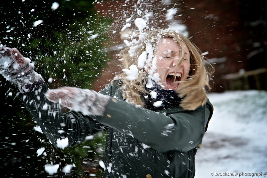 Snowball Fight! by Gary Brookshaw on 500px.com