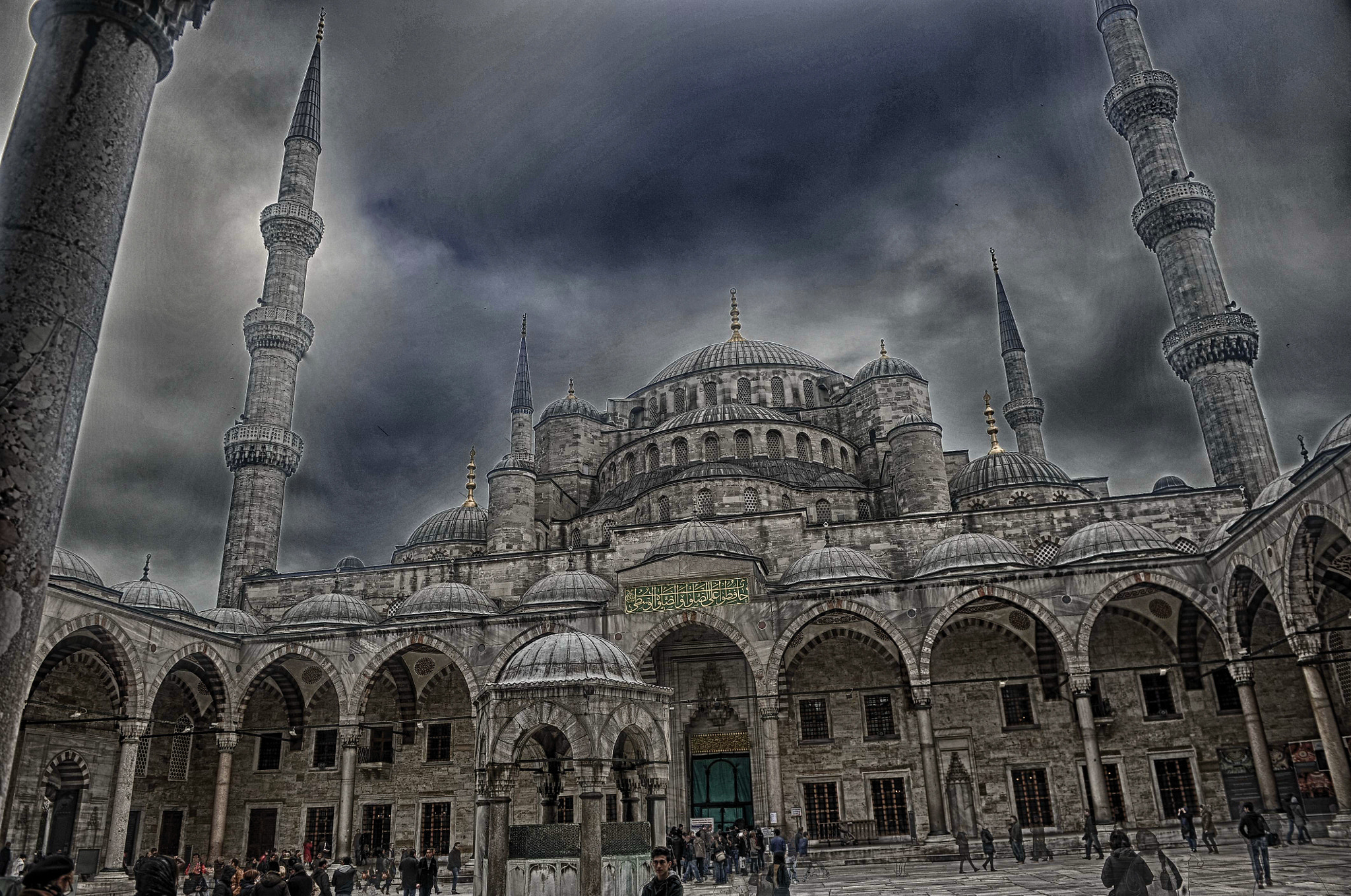 Photograph Sultanahmet Mosque by Mehdi Boutarouk on 500px