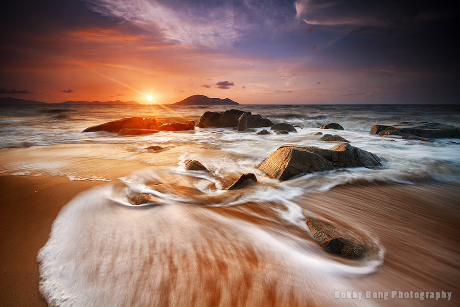 Photograph Dancing Waves by Bobby Bong on 500px